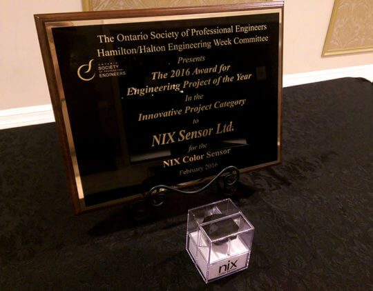 Nix Sensor Ltd. Awarded with Engineering Project of the Year