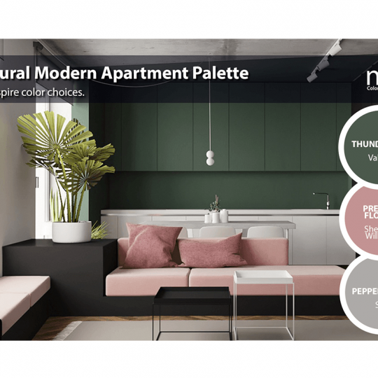 Natural Modern Apartment Palette