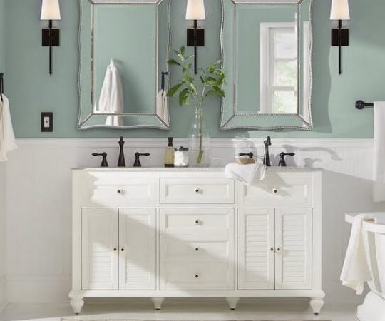 The Best Paint Finish for Bathrooms