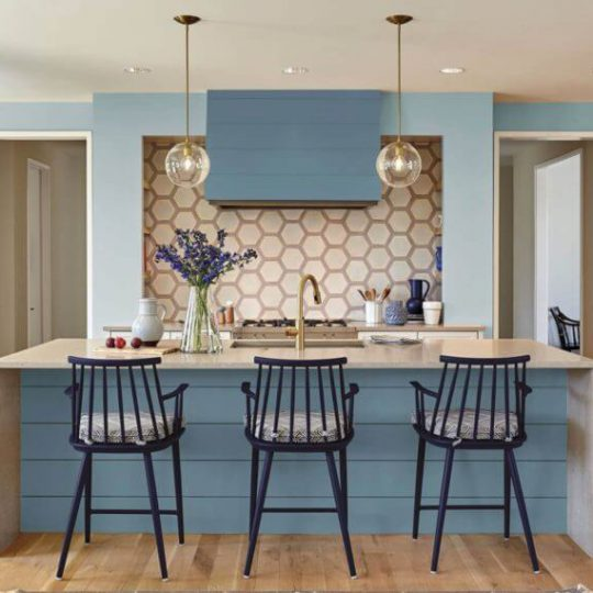 The Best Paint Finish for Kitchens