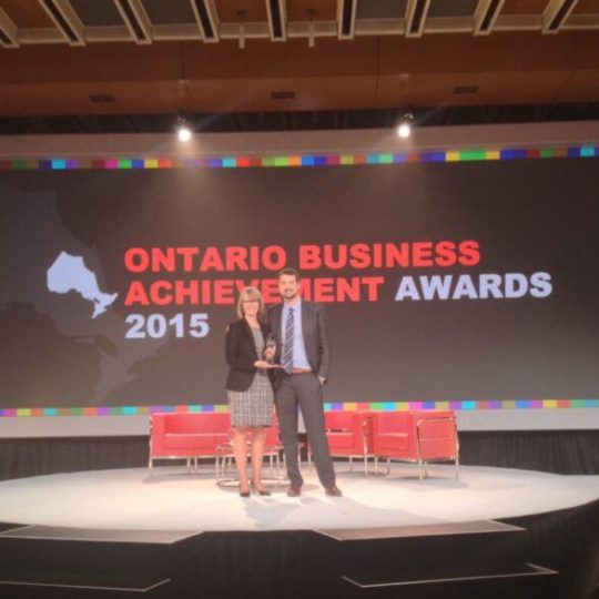 Matthew Sheridan named Ontario's Young Entrepreneur of the Year
